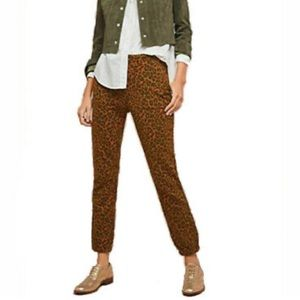 Anthropologie Sanctuary Leopard Print Joggers  NWT